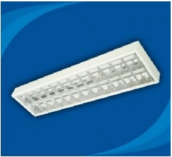 Máng đèn âm trần Inox Paragon PRFJ236 2 bóng