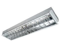 Máng đèn huỳnh quang âm trần 2 bóng 1m2 Rạng Đông FS 40/36 x 2 M6