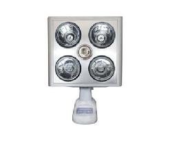 Đèn sưởi nhà tắm 4 bóng treo tường Hans K4B-S