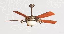 Quạt trần đèn trang trí Vĩnh Thái Q128