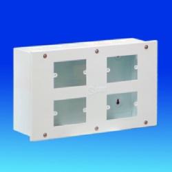 Tủ kết nối SINO TDO4 ( loại lắp 4 mặt công tắc và ổ cắm )