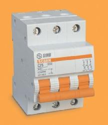 Aptomat Sino MCB 3P-50A-6KA-SC68N/C3050