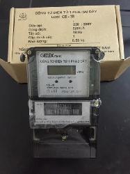 Công tơ điện tử 1 pha 2 dây loại CE - 38