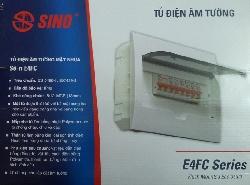 Tủ điện âm tường Sino chứa Aptomat MCB, RCCB, ELCB, RCBO