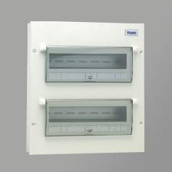 Tủ điện vỏ kim loại có chứa 24 module