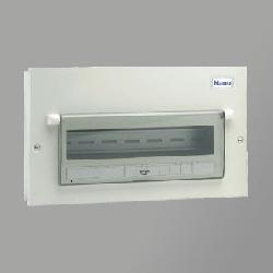 Tủ điện vỏ kim loại có chứa 13 module