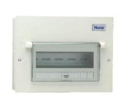 Tủ điện vỏ kim loại có chứa 9 module