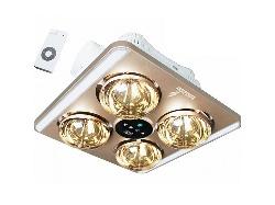 đèn sưởi 4 bóng âm trần LED ( điều khiển từ xa)