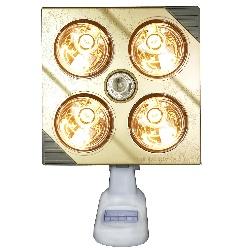 đèn sưởi 4 bóng treo tường