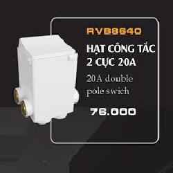 Hạt 20A RVB Roman RVB8640