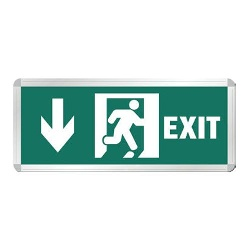 Đèn EXIT EXE2008L Roman 2w 1mặt