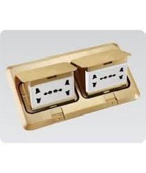 Bộ âm sàn kép  DOBO gồm 4 ổ cắm F66-886607