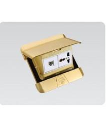 Bộ âm sàn  DOBO gồm ổ cắm và hạt mạng F88-888802