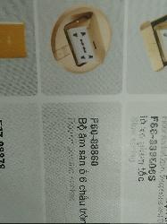 Bộ âm sàn DOBO ổ 6 chấu tròn F60-88860