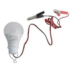ĐÈN LED BÚP ẮC QUY RẠNG ĐÔNG A60N1 12-24VDC/9W