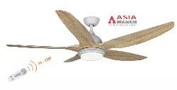 Quạt trần asia qt02-g-01 động cơ dc- gỗ phong cách