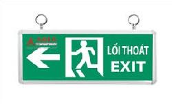 Đèn exit thoát hiểm asia ET-01 mặt