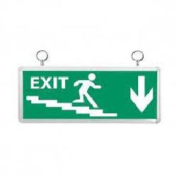 Đèn exit thoát hiểm asia ECX-01 mặt